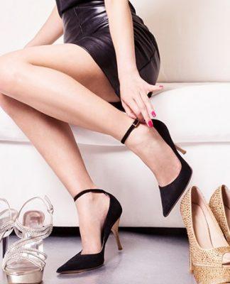 mẹo đi giày cao gót