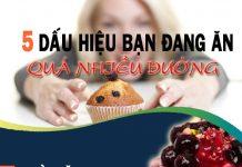 ăn nhiều đường