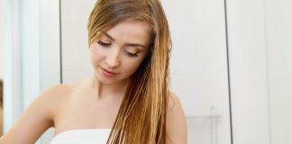 thói quen làm hại mái tóc