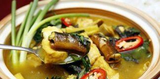 món ăn từ lươn