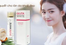 Nước hoa hồng Gluta White