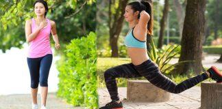 cường độ tập thể dục