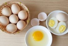 bữa sáng đủ chất dinh dưỡng