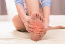dấu hiệu bàn chân