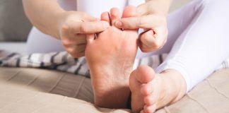 Dấu hiệu ở bàn chân